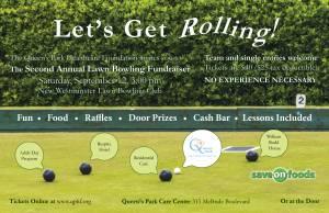 Lawn Bowling Poster